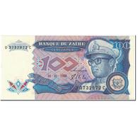 Billet, Zaïre, 100 Zaïres, 1988, 1988-10-14, KM:33a, SPL+ - Zaïre