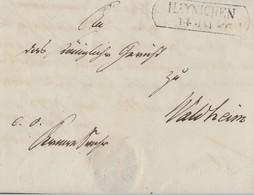 Sachsen Brief Von Haynichen 14.5.1846 Gel. Nach Waldheim 15.5.46 - Sachsen