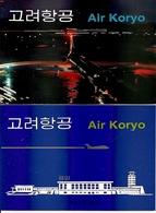 KOREA NORTH (DPR), 1997, Booklet 48/49, Air Koryo - Corée Du Nord