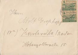 SBZ Brief Mef Minr.2x 85 Lützen 28.1.46 - Sowjetische Zone (SBZ)