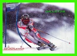 SPORTS D'HIVER, SKI - KJETIL ANDRE AAMODT, NORWAY - ALBERTVILLE 1992 EN SUPER G - - Sports D'hiver
