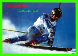 SPORTS D'HIVER, SKI - FRANCK PICCARD - MÉDAILLE D'OR EN SUPER G À CALGARY EN 1988 - - Sports D'hiver