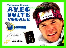 SPORTS D'HIVER, SKI - JEAN LUC BRASSARD -  TÉLÉAVERTISSEUR AVEC BOITE VOCALE - VIDÉOTRON - - Sports D'hiver