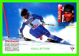 SPORTS D'HIVER, SKI - FRANCK PICCARD, FRANCE - SALOMON, THE RIGHT FEELING - - Sports D'hiver
