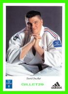 SPORTS , JUDO - DAVID DOUILLET - CHAMPION OLYMPIQUE À ATLANTA - ADIDAS - - Jeux Olympiques