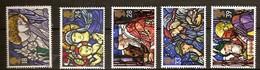 Grande-Bretagne United Kingdom 1992 Yvertn° 1640-1644 *** MNH Cote 7,50 Euro Noël Christmas Kerstmis - 1952-.... (Elizabeth II)