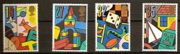 Grande-Bretagne United Kingdom 1989 Yvertn° 1380-1383 *** MNH Cote 6,50 Euro Fauna CEPT Europa - Neufs