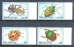 A290- NIUAFO'OU 1994 Insects, Beetles, Bugs, Fauna. - Insects