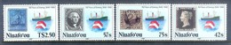 A291- Niuafo'ou 1990 Ships. Stamps On Stamps. Navi Ships. 150th Anniversary Of The First Stamp. - Ships