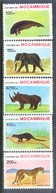 A295- MOZAMBIQUE MOÇAMBIQUE 1990. ANIMALS. - Stamps