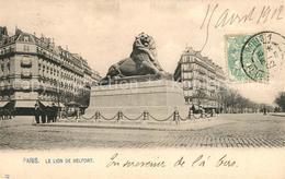 13115968 Paris Le Lion De Belfort Monument Paris - France
