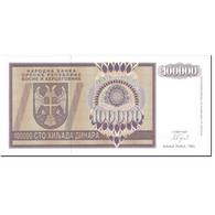 Billet, Bosnia - Herzegovina, 100,000 Dinara, 1993, Undated (1993), KM:141a - Bosnia Erzegovina