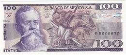 Mexico 100 Pesos 25-3-1982 UX Pick 74.c UNC - México
