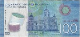 Nicaragua 100 Cordobas 2014 Polimero Pick 212 Ref 1643 - Nicaragua