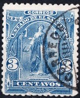 EL SALVADOR, FIGURE ALLEGORICHE, CERES, UPU, 1899, FRANCOBOLLI USATI,  Michel 188 I   Scott 201 - El Salvador