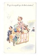 Illustration Illustrateur Janser Et Je N'ai Emporté Que Le Strict Nécessaire Cpa Correspondance 1951 - Janser