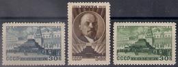 Russia 1947, Michel Nr 1085-87, MNH OG - 1923-1991 USSR