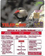@+ TC Du Perou - Telepoint - Zarcillo Bird - Ref: PER-TE-070 - Peru