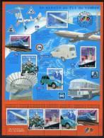 = Le Siècle Au Fil Du Timbre Bloc 47 Transports Avion Concorde La Mobylette Paquebot Le France 3471 3472 3473 3474 3475 - Mint/Hinged