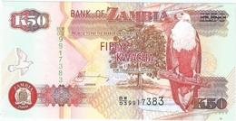 Zambia 50 Kwacha 2009 Pick 37.h UNC - Zambia