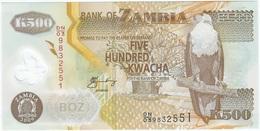 Zambia 500 Kwacha 2009 Polímero Pick 43.g UNC - Zambia