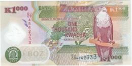 Zambia 1.000 Kwacha 2008 Polímero Pick 44.f UNC - Zambia