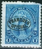 EL SALVADOR, LIBERTA, 1896, FRANCOBOLLI NUOVI (MLH*),  Michel D13,D14   Scott O1,O2 - El Salvador