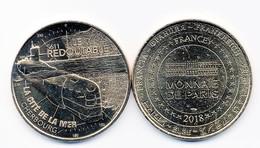 Pièce Monnaie De Paris 2018 - La Cité De La Mer Cherbourg - S611 - Le Redoutable - 2016