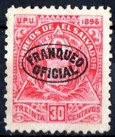 EL SALVADOR, STEMMI, COAT OF ARMS, UPU, 1897, FRANCOBOLLI NUOVI (MLH*),  Michel D59   Scott O88 - El Salvador