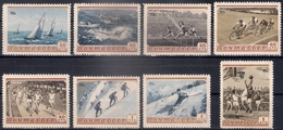 Russia 1954, Michel Nr 1710-17, MNH OG - 1923-1991 USSR