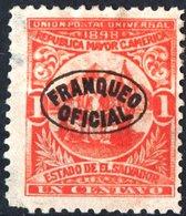 EL SALVADOR, UNIONE AMERICA CENTRALE, 1898, FRANCOBOLLI NUOVI (MLH*),  Michel D65   Scott O129 - El Salvador