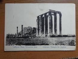Griekenland - Greece / Athènes, Temple Du Jupiter --> Unwritten - Grèce