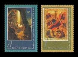 Moldova (Transnistria) 2014 No. 494/95 Christmas. Paintings MNH ** - Moldova