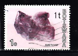 Botswana  1974 Mi Nr 114 Mineralen, Amethyst - Botswana (1966-...)