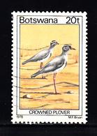 Botswana  1978 Mi Nr 206 Bird, Growned Plover - Botswana (1966-...)
