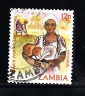 Zambia 1981 Mi Nr  254 : Leven In Zambia, Paddenstoelen, Mushroom - Zambia (1965-...)