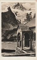 CPA 05 La Grave - Chapelle Des Terrasses Et Le Grand Pic De La Meije - France