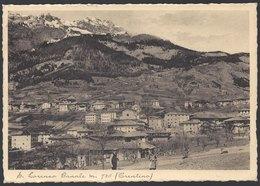 S. Lorenzo Banale (Trento) - Panorama - Viaggiata 1939, FG - Trento