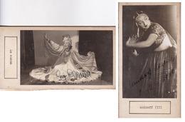 LA ELENA; ANIKOFF(II). AUTOGRAPHE AUTOGRAFO SIGNEE SIGNATURE AUTHENTIQUE ORIGINAL.-BLEUP - Autogramme & Autographen