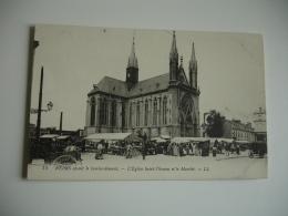 Reims Le Marche Eglise Saint Thomas - Reims