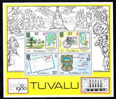 Tuvalu 1980 Mi Nr Blok 4, London 1980 - Tuvalu