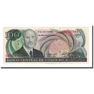 Billet, Costa Rica, 100 Colones, 1992-06-17, KM:258, NEUF - Costa Rica