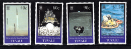 Tuvalu 1999 Mi Nr 832 - 835, Appollo 11, Maanlanding, Space - Tuvalu