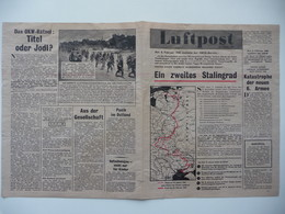 WWII WW2 Tract Flugblatt Propaganda Leaflet In German, PWE G Series/1944, G.8, Luftpost, Nr. 2, 13. Februar 1944 - Non Classificati