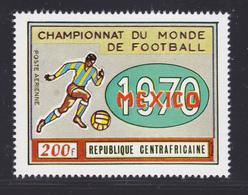 CENTRAFRICAINE AERIENS N°   88 ** MNH Neuf Sans Charnière, TB (D6939) Coupe Du Monde De Football Au Mexique - Central African Republic