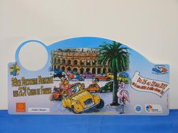 """Plaque De Rallye """"RENCONTRE NATIONALE DES 2CV"""" Clubs De France. - Plaques De Rallye"""