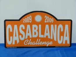 """Plaque De Rallye """"CASABLANCA"""" Challenge. - Plaques De Rallye"""
