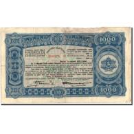 Billet, Bulgarie, 1000 Leva, 1944, 1944, KM:67k, TB+ - Bulgarie