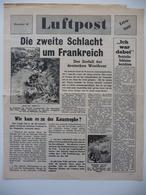 WWII WW2 Tract Flugblatt Propaganda Leaflet In German, PWE G Series/1944, G.27, Luftpost, Nr. 44 - Non Classificati