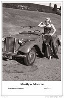 MARILYN MONROE - Film Star Pin Up PHOTO POSTCARD- Publisher Swiftsure 2000 (201/272) - Postcards